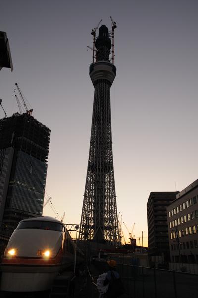 業平橋~曳舟